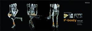 Portal 2 P-Body 1/6 Scale Figure