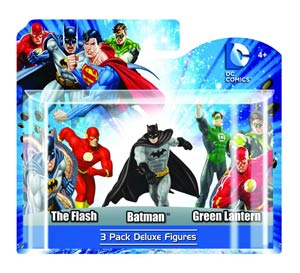 DC Heroes 4-Inch PVC Figure 3-Pack Set C 6-Piece Case