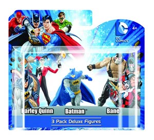 DC Heroes 4-Inch PVC Figure 3-Pack Set D 6-Piece Case