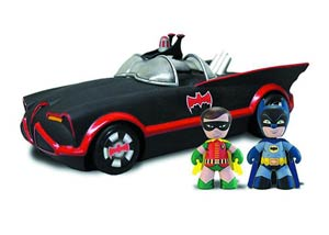Mini-Mezitz Batman 1966 Batmobile With Batman & Robin Previews Exclusive