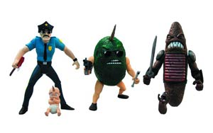 Axe Cop 4-Inch Action Figure Series 1 Assortment Case