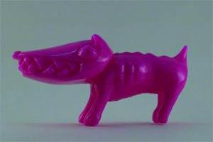 Chiko O.G. Waodog Soft Vinyl Figure - Pink