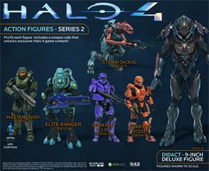 Halo 4 Series 2 Didact 9-Inch Deluxe Action Figure