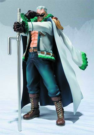 One Piece Figuarts Zero - Punk Hazard Version - Smoker Figure