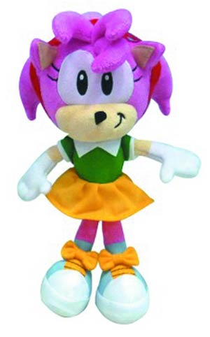 Sonic The Hedgehog 7-Inch Plush - Amy