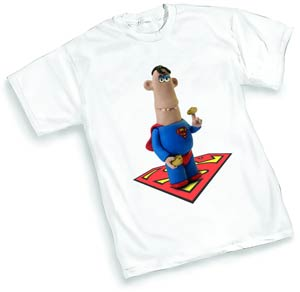 Aardman Superman T-Shirt Large