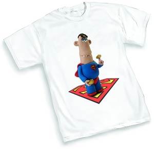 Aardman Superman T-Shirt Large