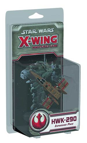 Star Wars X-Wing Miniatures HWK-290 Light Freighter Expansion Pack