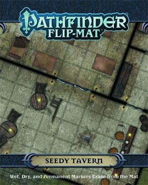 Pathfinder Flip Mat - Seedy Tavern