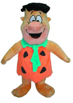 Hanna-Barbera Fred Flintstone 12-Inch Plush