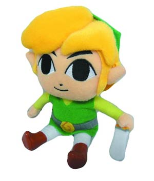Legend Of Zelda Link 8-Inch Plush