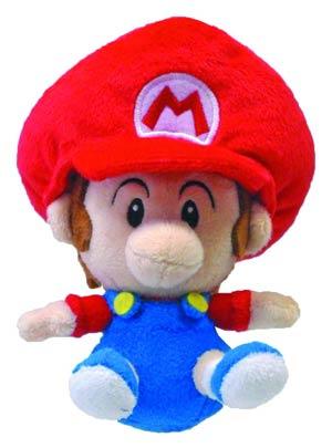 Super Mario Bros Plush - Baby Mario 5-Inch