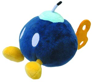 Super Mario Bros Plush - Bob-Omb 6-Inch