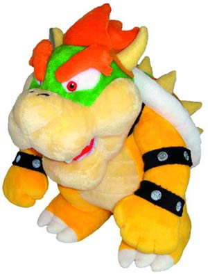 Super Mario Bros Plush - Bowser 10-Inch