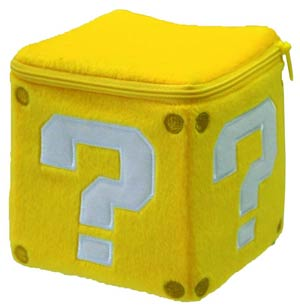 Super Mario Bros Plush - Coin Box 5-Inch