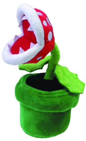 Super Mario Bros Plush - Piranha Plant 8-Inch