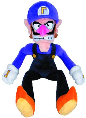 Super Mario Bros Plush - Waluigi 11-Inch