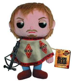 DO NOT USE (Duplicate Listing) WALKING DEAD DARYL DIXON 7 INCH PLUSH (C: 1-1-1)