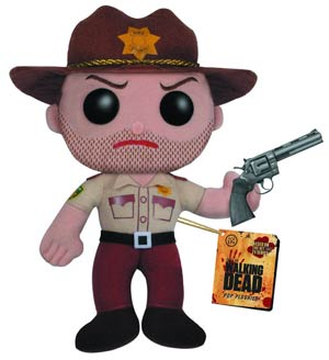 DO NOT USE (Duplicate Listing) WALKING DEAD RICK GRIMES 7 INCH PLUSH (C: 1-1-1)