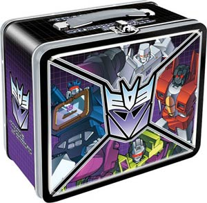 Transformers Decepticons Lunch Box