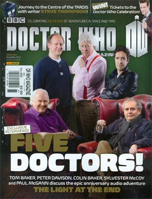 Doctor Who Magazine #465 Nov 2013