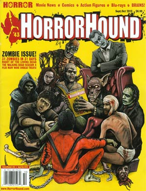 HorrorHound #43 Sep / Oct 2013
