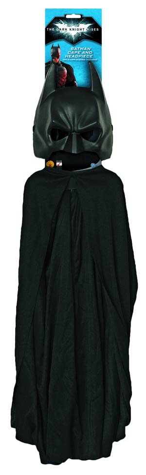 Dark Knight Rises Cape & Mask Set Adult