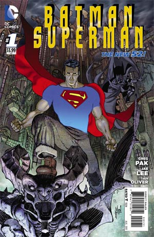 Batman Superman #1 Cover E Incentive Guillem March Superman Variant Cover