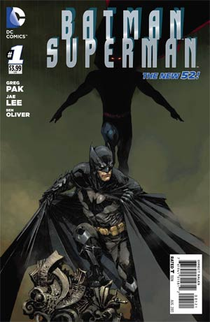 Batman Superman #1 Cover F Incentive Kenneth Rocafort Batman Variant Cover