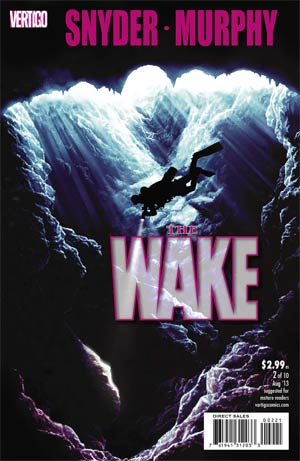 Wake #2 Cover B Incentive Lee Bermejo Variant Cover