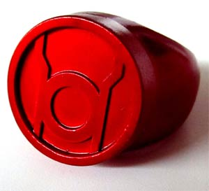 Lantern Corps Ring (New Edition) - Red