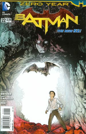 Batman Vol 2 #22 Cover D Incentive Mikel Janin Variant Cover (Batman Zero Year Tie-In)