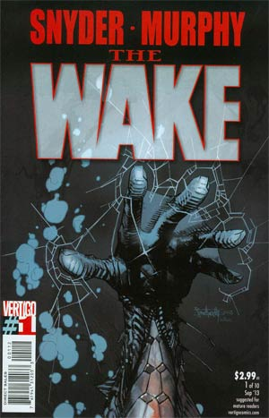 Wake #1 Cover D 2nd Ptg