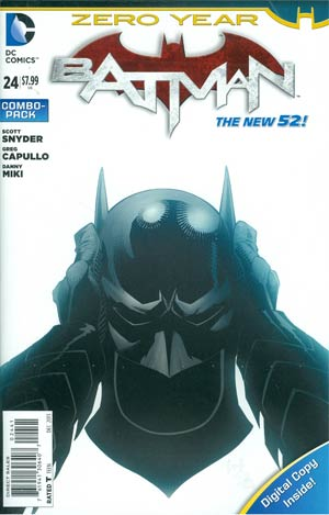 Batman Vol 2 #24 Cover B Combo Pack With Polybag (Batman Zero Year Tie-In)