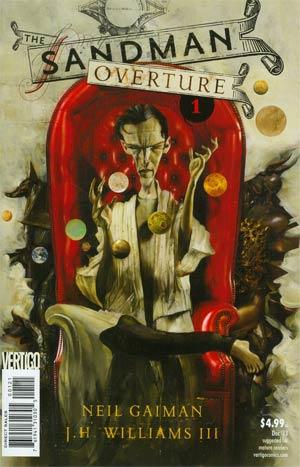 Sandman Overture #1 Cover B 1st Ptg Regular Dave McKean Cover