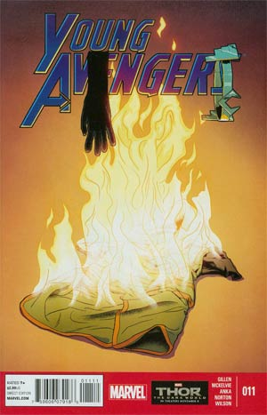 Young Avengers Vol 2 #11 Cover A Regular Jamie McKelvie Cover