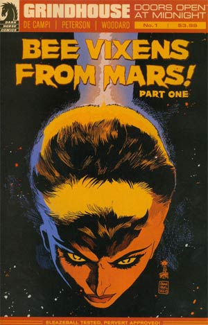Grindhouse Doors Open At Midnight #1 Cover A Regular Francesco Francavilla Cover