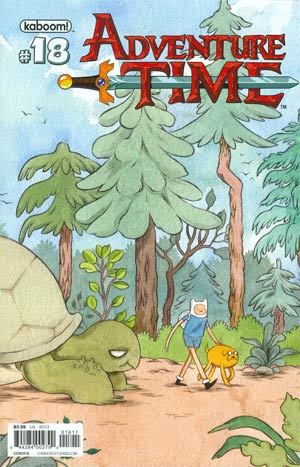 Adventure Time #18 Cover B Regular Kelly Bastow Cover