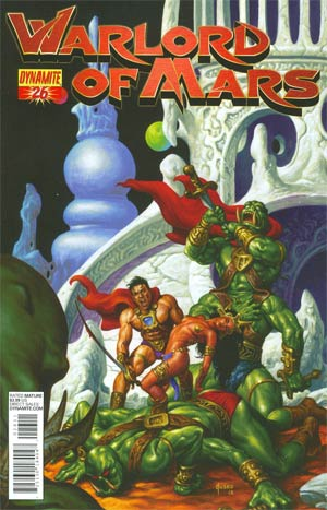 Warlord Of Mars #26 Cover A Regular Joe Jusko Cover