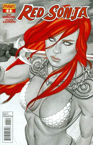Red Sonja Vol 5 #1 Cover M 2nd Ptg