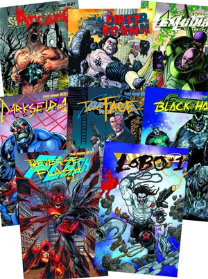 DC Villains Month 3D Motion Complete Set Of 53 books (2nd Printing)