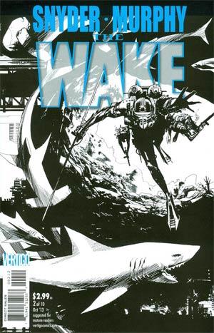 Wake #2 Cover C 2nd Ptg