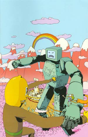 Adventure Time #19 Cover C Incentive Matt Sheean Virgin Variant Cover