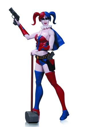 DC Comics Super-Villains Harley Quinn Action Figure