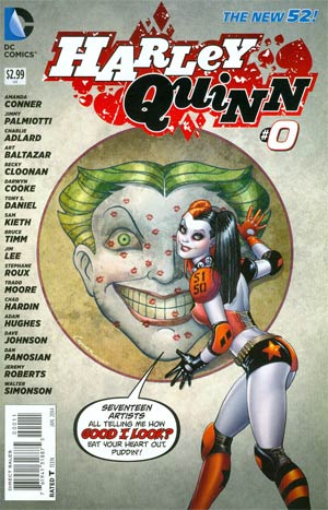 Harley Quinn Vol 2 #0 Cover A Regular Amanda Conner Cover