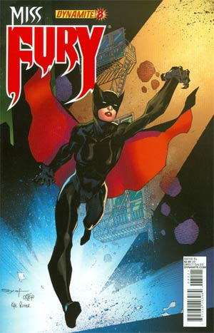 Miss Fury Vol 2 #8 Cover B Regular Ardian Syaf Cover