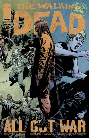 Walking Dead #117 Cover A 1st Ptg