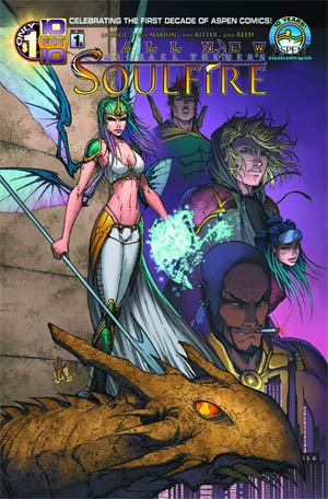 All New Soulfire #1 Cover A Regular Direct Market Cover
