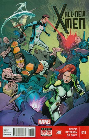 All-New X-Men #19 Cover A Regular Brandon Peterson Cover