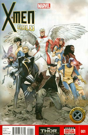X-Men Gold One Shot Cover A Regular Olivier Coipel Cover